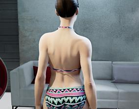 sand 3D model Bikini
