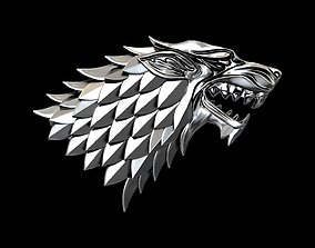 Game of Thrones Stark house 3d print ready GoT