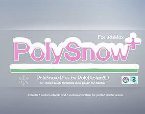 PolySnow Plus for 3dsMax plugins