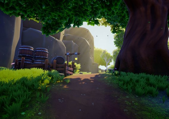 Stylized PBR Environment for Unreal