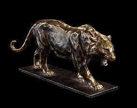 Tiger statuette 3D model