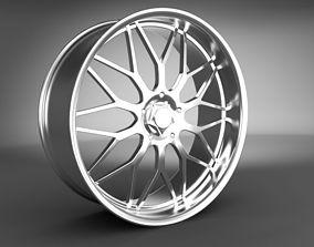 alloy 3D model Wheel Rim
