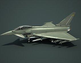 Eurofighter Typhoon Fighter 3D asset