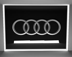 3D asset AUDI LOGO