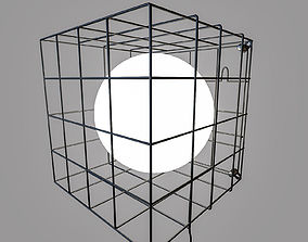 3D asset MARKSLOJD CAGE Table Wall