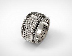 3D print model David Yurman Maritime Rope Band Ring Us 8