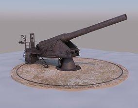 3D model WW I Cannon