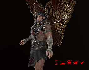 3D asset Sphinx the destroyer Earthly incarnation