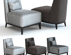 The Sofa and Chair Co - Lisbon Armchair 3D model