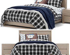 RH Baby and Child Wyler bed 3D model