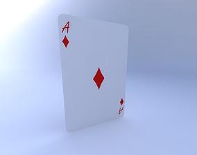 3D Ace of Diamonds
