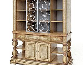 An Antique Style Cupboard 3D model