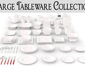3D model Large Tableware Collection
