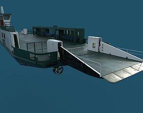 car ferry 3D model