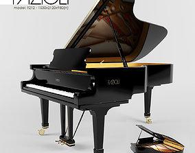 PIANO - FAZIOLI F212 3D model