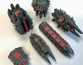 Twilight Imperium ships Nekro 3D print model