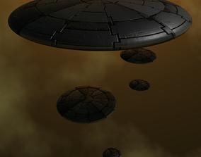 3D UFO ARMADA
