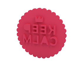 3D printable model Cookie stamp - Stamp house