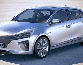 Hyundai Ioniq Electric 2018 3D model