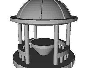 Gazebo Round 3D printable model