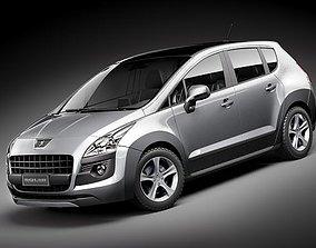 Peugeot 3008 3D model