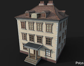 3D asset Game Ready House