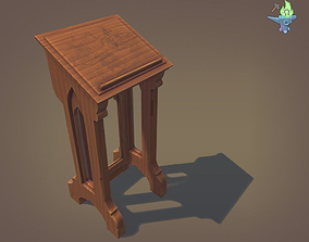 3D model Lectern
