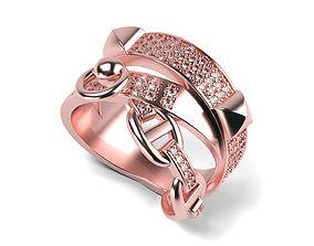 3D print model Multi Row Ring