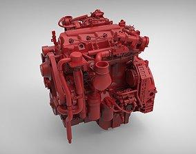 Cummins QSF 39 diesel engine 3d model