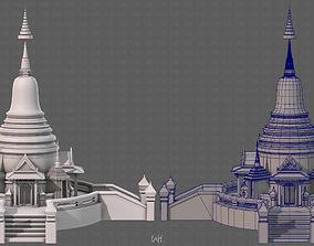 3D asset Pagoda V04