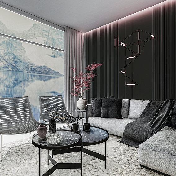 Residential Lounge Design