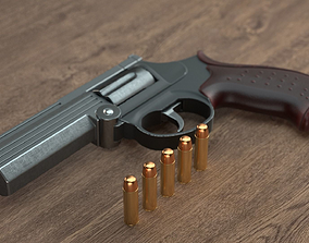 MP-412 Rex 3D model