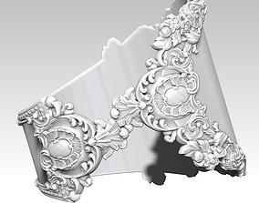 Female Woman Girl Carved Pattern 3D printable model 4
