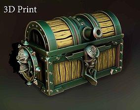 3D print model Pirate chest