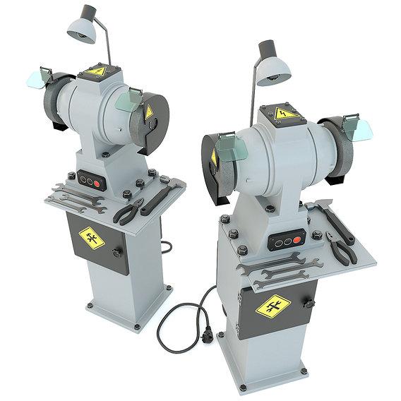 Industrial machine tool - Grinder machine rack-mounted
