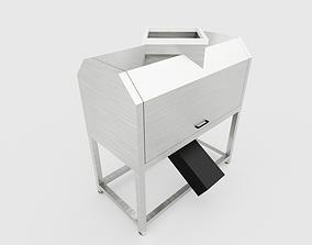 3D asset PITER SLICER MACHINE