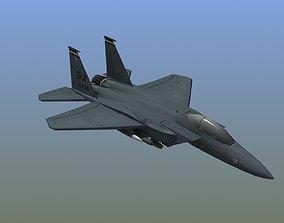 F15E Strike Eagle 3D model