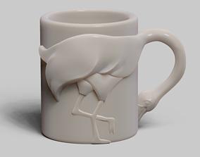 3D printable model Flamingo cup