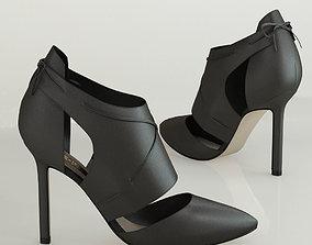 3D Becan leather ankle boot