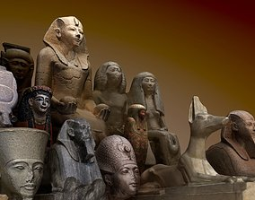Museum pack - Ancient Egypt 3D asset