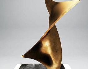 Modern sculpture retro 3D model