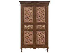 3D model classic cabinet 04 05
