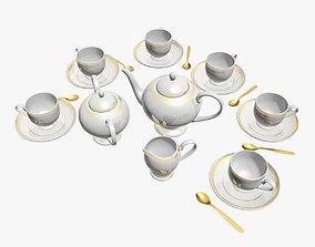 3D model Tea Service