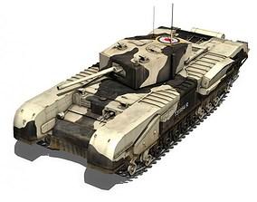 Churchill MK III Kingforce 3D model