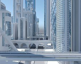 High Definition City 3D model