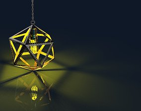 Icosahedron Lamp 3D printable model