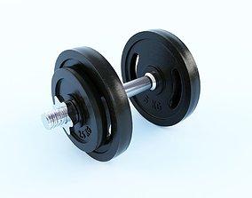 3D model gym equipment hobby Dumbbell