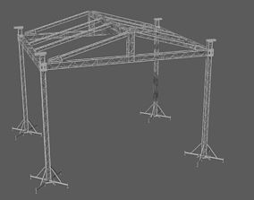 3D Prolyte MPT 10x8 roof system