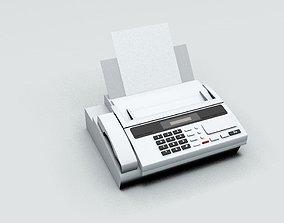 Fax Machine Electronic 3D model