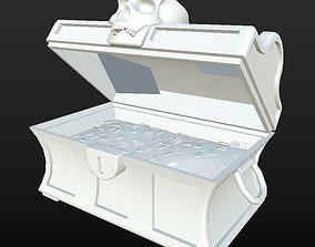 3D asset Clean Treasure Chest D180326